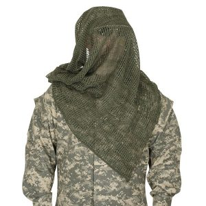 Woodland Sniper Veil 8415-01-280-3098