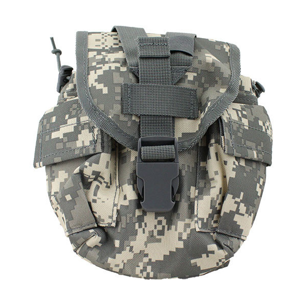 1QT MOLLE Canteen Pouch ACU Camo