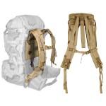 MOLLE II Backpack Shoulder Straps Desert Camo
