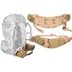 MOLLE II Backpack Molded Waist (Kidney) Belt Desert Camo