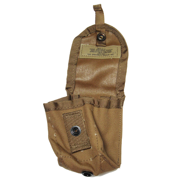 2 NEW MOLLE II Hand Grenade Compass Pouch Coyote Brown