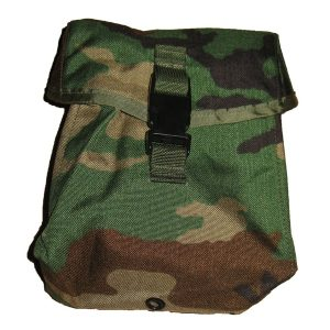 MOLLE II Woodland Sustainment Pouch