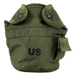 US Military 1 Qt. Water Canteen Insulated Cover - OD Green