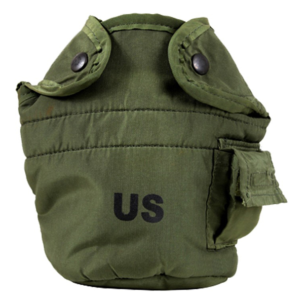 US Military 1 Qt. Water Canteen Insulated Cover – OD Green