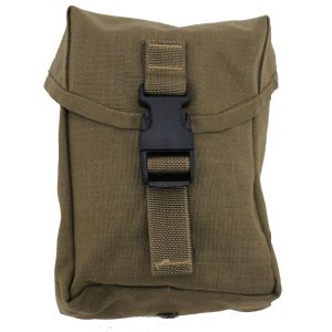 US Military MOLLE II 200 Round SAW Gunner Mag Utility Pouch Coyote