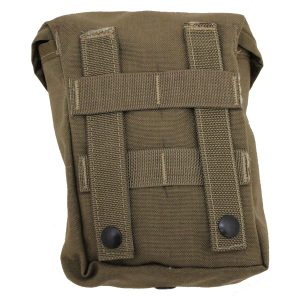 US Military MOLLE II 200 Round SAW Gunner Mag Utility Pouch Coyote Brown