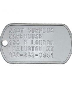 Army Surplus Dog Tags